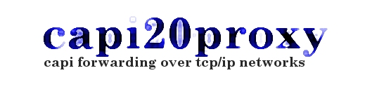 capi20proxy: capi forwarding over tcp/ip networks